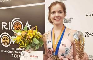 Одесситка стала призёром чемпионата мира по шашкам