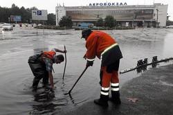 Наводнение в Одессе после сильного ливня (ФОТО)
