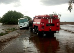 Затопления и порванные провода: итоги урагана в Одесской области