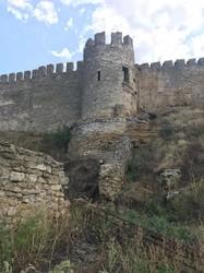 Средневековая крепость в Белгороде-Днестровском пострадала от ливней начала августа (ФОТО)