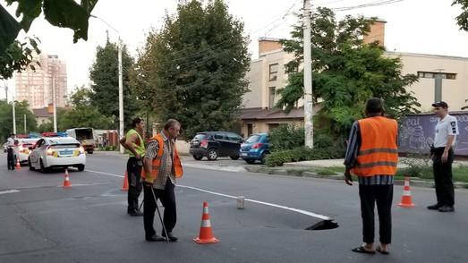 В Одессе третий раз за три года проваливается земля по улице Львовской