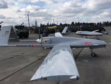 Украина-Турецким ударным БПЛА быть?