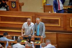 Заместители председателя облсовета остаются на своих местах