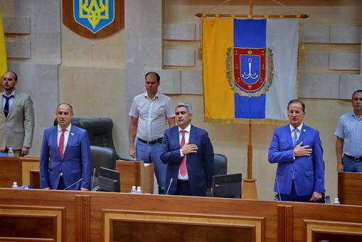Первого заместителя председателя Одесского облсовета отправили в отставку