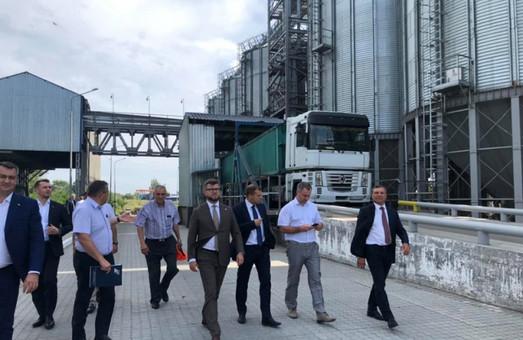 В Одессе появился первый зерновой терминал «Укрзализныци»