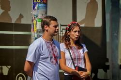 """По Одессе в День независимости Украины будет ходить """"вышиванковый"""" трамвай (ФОТО)"""