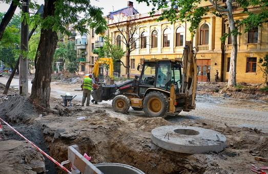В Одессе объявили несколько тендеров на строительство и ремонт улично-дорожной и пешеходной инфраструктуры