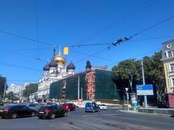 В Одессе начали ремонт памятника архитектуры на Привокзальной площади (ФОТО)