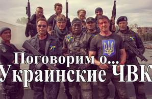 Украинские ЧВК (видео)