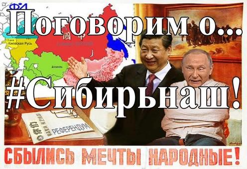 Оккупация Китаем Российской Федерации