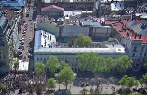 Памятник архитектуры на Дерибасовской напротив Городского сада отремонтируют за 18 миллионов