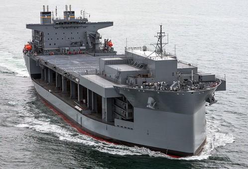 ВМС США расширяют количество плавучих экспедиционных баз