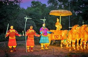 Фестиваль гигантских китайских фонарей в Одессе продлили