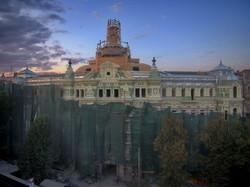 Воссоздание дома Руссова: показываем обновленный фасад памятника архитектуры (ФОТО, ВИДЕО)