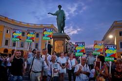 С днем рождения, Одесса: праздничный концерт с высоты птичьего полета (ФОТО, ВИДЕО)