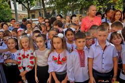 Новый учебный год в Одессе: как это было в исторической школе №26 (ФОТО, ВИДЕО)