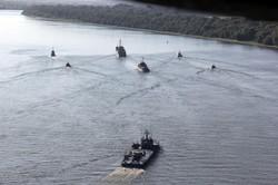 ВМС Украины провели учения на Дунае вместе с румынским флотом (ФОТО, ВИДЕО)