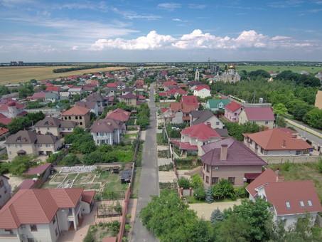 В поселке Авангард под Одессой начинают строить детский сад за 56,5 миллионов