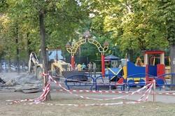 На Соборной площади старую детскую площадку заменят на новую и более удобную