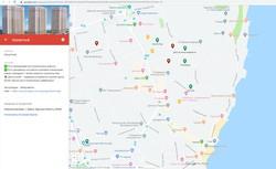 """""""Красная Стена"""": новый проект собрал все одесские новострои на одной карте"""