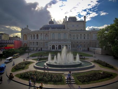 В октябре одесские фонтаны отключат на зимний сезон