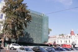 В Одессе горел дом Либмана