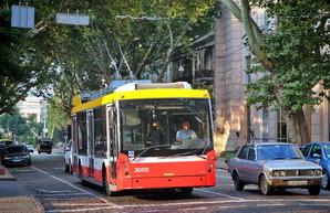 Завтра в Одессе часть троллейбусов изменит свои маршруты