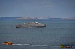 В Черное море вошел американский военный корабль
