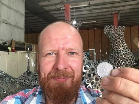 В Одессе может появиться скульптура из мелких монет