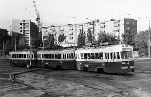 Как в Одессе 50 лет назад создавали трехвагонные трамвайные поезда (ФОТО)