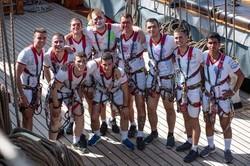 Как одесские кадеты проходили практику на итальянском учебном корабле
