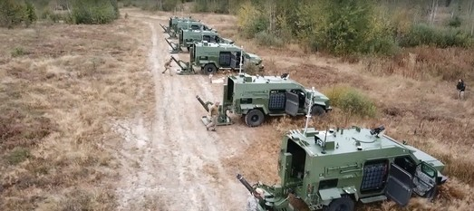 Мобильные минометы БАРС-8ММК уже готовы жечь врага
