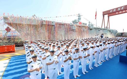 """Морская сверхдержава на подходе или о китайском вертолетоносце """"Тип-075"""""""