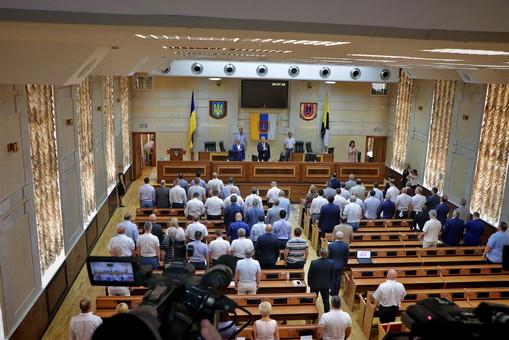Одесский областной совет соберется на сессию через месяц