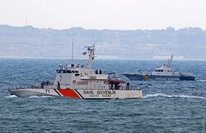 В Одессу пришел турецкий катер береговой охраны
