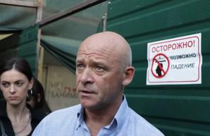 Мэр Одессы до завтра находится в командировке в столице Евросоюза