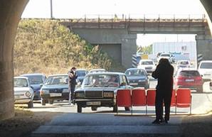 В Раздельнянском районе Одесской области снова перекрывают автотрассу Р-33