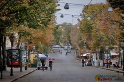 В Одессе началась настоящая дождливая осень (ФОТО)