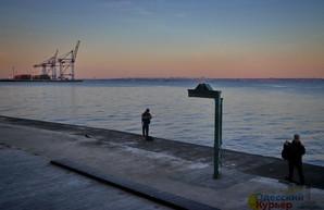 Одесса и море в холодный октябрьский день (ФОТО)