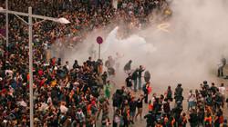 Барселона в дыму или эти знакомые мотивы беспорядков