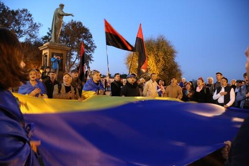 В Одессе снова протестовали против капитуляции (ФОТО)