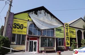 Владельцу сгоревшего отеля в Одессе назначили залог в 53 миллиона