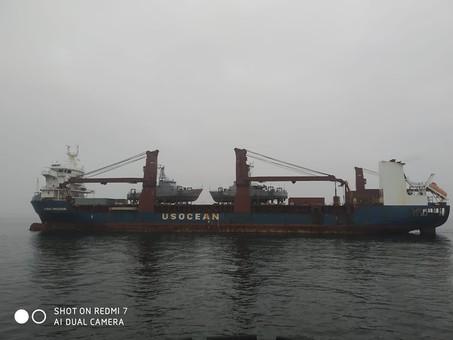 В Одессу прибыли из США катера для ВМС Украины (ФОТО)