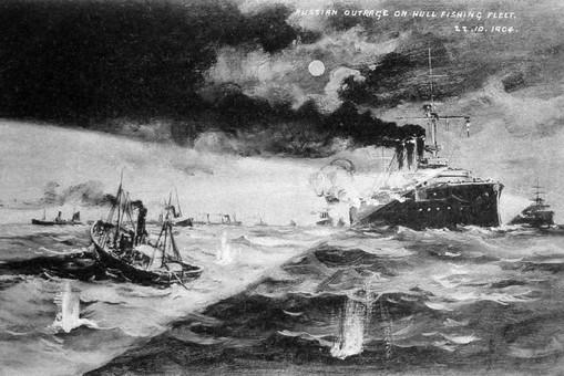 Как русский флот расстрелял британских рыбаков