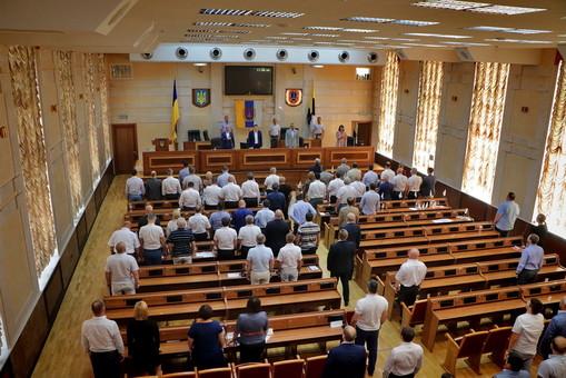 """Здание одесского облсовета """"заминировали"""" прямо во время сессии"""
