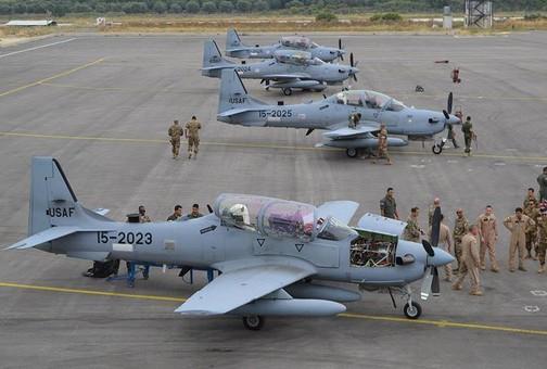История боевых операций EMB-314 Super Tucano