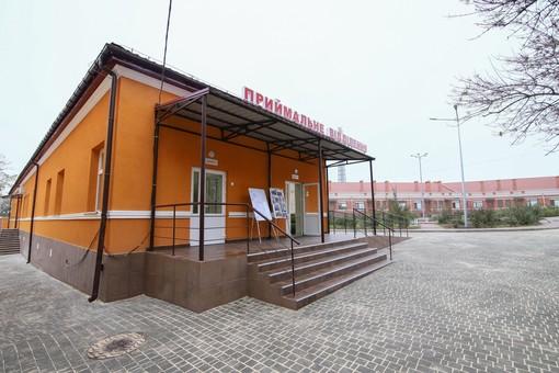 В Одессе открыли новое приёмное отделение инфекционной больницы