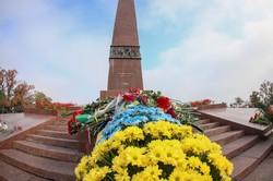 75 лет освобождения Украины от нацистов празднуют а Одессе