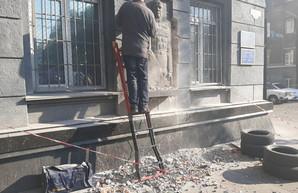 В Одессе снесли последний памятник советскому маршалу Жукову