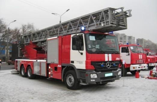 В Одесской области горел склад угля в школе